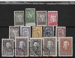 Yougoslavie Yv. 112-125 O. - Oblitérés