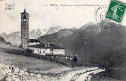 V14634 Cpa 73 Peisey - L'Eglise Et Les Glaciers De Belle Côte - Non Classificati