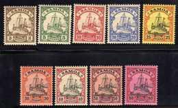 Deutsche Kolonien, Samoa Mi 7-15 * [030618LAII] - Colonia: Samoa