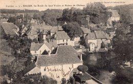 V14675 Cpa 19 Ségur -  Les Bords Du Haut Vézère Et Ruines Du Château - France