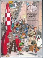 BELGIQUE Bloc 134 ** MNH Non Dentelé Imperforated CBBD Fusée Tintin Hergé Mortimer Blake Cubitus  Boule Bill ... DANY - Comics