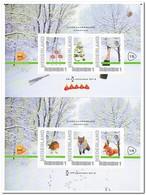 Nederland 2013, Postfris MNH, Eindejaarsbeurs Barneveld, Squirrel, Fox, Bird - Pays-Bas