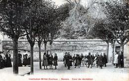 Cpa(58)-institution Millet-ducloux.- Nevers-cour De Rècrèation. - Nevers