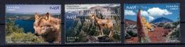 8.- SPAIN ESPAGNE 2010 NATURAL PARKS - WOLF - VOLCANO - 1931-Oggi: 2. Rep. - ... Juan Carlos I