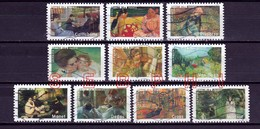 FRANCE 2006 : LES IMPRESSIONNISTES / SERIE COMPLETE - Used Stamps
