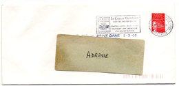CORREZE - Dépt N° 19 = BRIVE La GAILLARDE GARE 2000 = FLAMME Codée = SECAP  Illustrée ' CAUSSE CORREZIEN' - Postmark Collection (Covers)