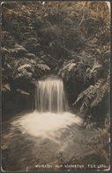 Hot Waterfall, Wairakei, New Zealand, C.1910s - FGR RP Postcard - New Zealand