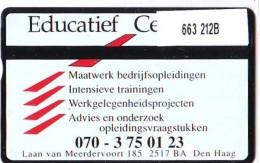 Telefoonkaart  LANDIS&GYR NEDERLAND * RCZ.663   212b * Educatief Centrum * TK * ONGEBRUIKT * MINT - Privé
