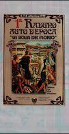 POSTCARD RADUNO AUTO EPOCA LA SICILIA DEI FLORIO 1979 NUOVA NON VIAGGIATA - Rally