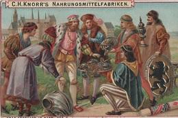Sammelbild Knorr 's Graf Eberhard Im Bart Bild No 2 Fürst Von Sachsen - Kaufmanns- Und Zigarettenbilder