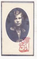 DP Foto - Clara De Vreese / Huysse 17j. ° Drongen 1914 † Baarle 1931 / Gent - Devotieprenten