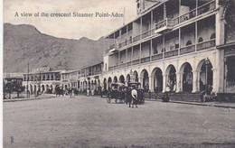 Yemen A View Of The Crescent Steamer Point Aden - Yémen