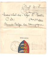 Courrier C.Hastings 13/5/1917 En O.H.M.S.v.Soldat Belge Armée Belge En Campagne C.d'arrivée PMB-BLP 7 16/5/17 JS274 - Army: Belgium