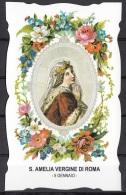 Santi Del Calendario. - 05 Gennaio - Santa Amelia Vergine Di Roma - Devotion Images
