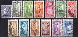 Col9  Grand Liban :  N° 50 à 62  Neuf  X MH Et Oblitéré   , Cote : 35,00 Euro - Great Lebanon (1924-1945)