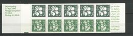 1993 MNH Schweden, Sweden, Sverige, Booklet, Postfris - Carnets