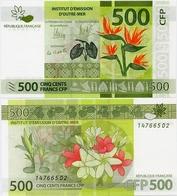 FRENCH PACIFIC TERRITORIES     500 Francs CFP     P-5   ND (2014)   UNC  [sign. 14] - Territoires Français Du Pacifique (1992-...)