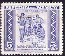 Paraguay - IIndianischer Nachrichtendienst (MiNr: 612) 1946 - Gest Used Obl - Paraguay