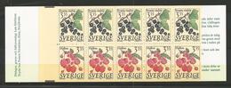 1995 MNH Schweden, Sweden, Sverige, Booklet, Postfris - 1981-..