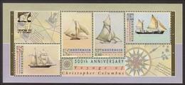 1992 - Australian AUSTRALIA DAY COLUMBUS Minisheet Miniature Sheet MNH Overprint GENOVA - Blocks & Sheetlets