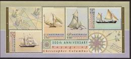 1992 - Australian AUSTRALIA DAY COLUMBUS Minisheet Miniature Sheet MNH - Blocks & Sheetlets