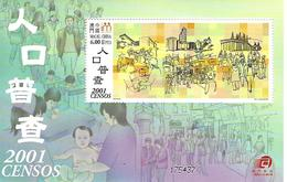 2001 - Censos - 1999-... Région Administrative Chinoise
