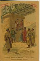 Chocolat Piulain  --  Guerre Russo-Japonaise 14. April 1904-Sammelbilder  (52574) - Poulain