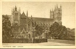 003740  Westminster Abbey, London 1950 - Westminster Abbey