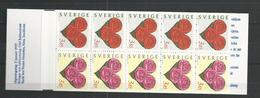 1997 MNH Schweden, Sweden, Sverige, Booklet, Postfris - Carnets