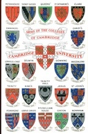 003744  Arms Of The Colleges Of Cambridge, Cambridge University - Cambridge