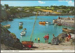 Coverack Harbour, Cornwall, C.1980 - John Hinde Postcard - England