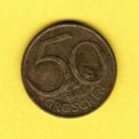 AUSTRIA   50 GROSCHEN 1966 (KM # 2885) #5158 - Austria