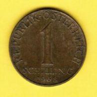 AUSTRIA   1 SCHILLING 1968 (KM # 2886) #5174 - Austria
