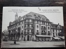 COLMAR Haut Rhin,  En Face De La Gare, GRAND HOTEL BRISTOL Le Plus Récent De L'Alsace . TRAMWAY ,TTB - Colmar