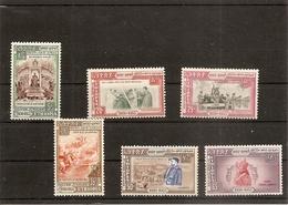 Ethiopie Ethiopia 333 à 338 NSC 1955, 25 è Anniversaire De L'avènement De L'empereur Haïlé Sélassié I Er - Ethiopie