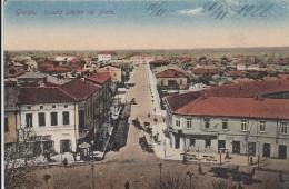 AK - GIURGIU -  Teilansicht Mit Str. Stefan Cel Mare 1910 - Rumänien