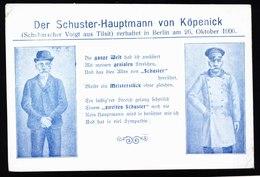 A5497) Ansichtskarte Hauptmann Von Köpenick Ungebraucht - Historische Persönlichkeiten