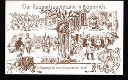A5498) Ansichtskarte Hauptmann Von Köpenick Ungebraucht - Historische Persönlichkeiten