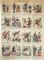 Imagerie Pellerin D'Epinal- 933-LE PETIT SOLDAT-1870 - Storia