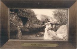 ***  77  ***  Fontainebleau Encadrement  Le Rocher Qui Pleure Superbe Neuve Excellent état - Fontainebleau