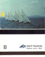 TARJETA TELEFONICA DE ESTONIA (TIRADA 7500) (009) - Estonia