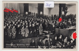 365, Fotokarte Nürnberg Parteitag 1933 Noch Mit Stabschef Röhm Sehr Selten ! - Weltkrieg 1939-45