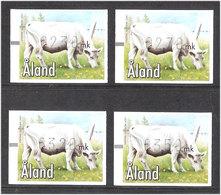 Aland Åland 2001 Automat Stamp  Animals Cow Mi 12 X 4, MNH(**) - Aland
