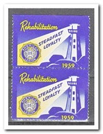 Amerika 1959, Postfris MNH, Rehabilitation, Lighthouse ( Above Imperf. ) - Automatenmarken