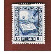 ISLANDA (ICELAND)  -  SG 322 - 1953  REYKJABOK  -   USED - Usati