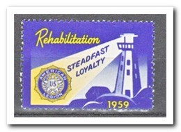 Amerika 1959, Postfris MNH, Rehabilitation, Lighthouse - Distributeurs Automatiques (EMA)