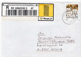 Postal History: Austria R Cover - 1945-.... 2nd Republic