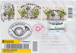 Postal History: Austria Cover For WIPA 2008 With Machine Stamp - 1945-.... 2nd Republic