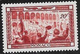 MONACO N° PA 36 - CENTENAIRE NAISSANCE PRINCE ALBERT 1ER -  NEUF AVEC CHARNIERE  - 1949 - Nuevos