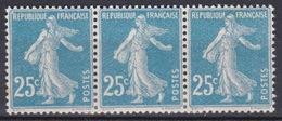 FRANCE N° 140e TYPE II NEUF* TRACE DE CHARNIERE / MH  TACHE - France